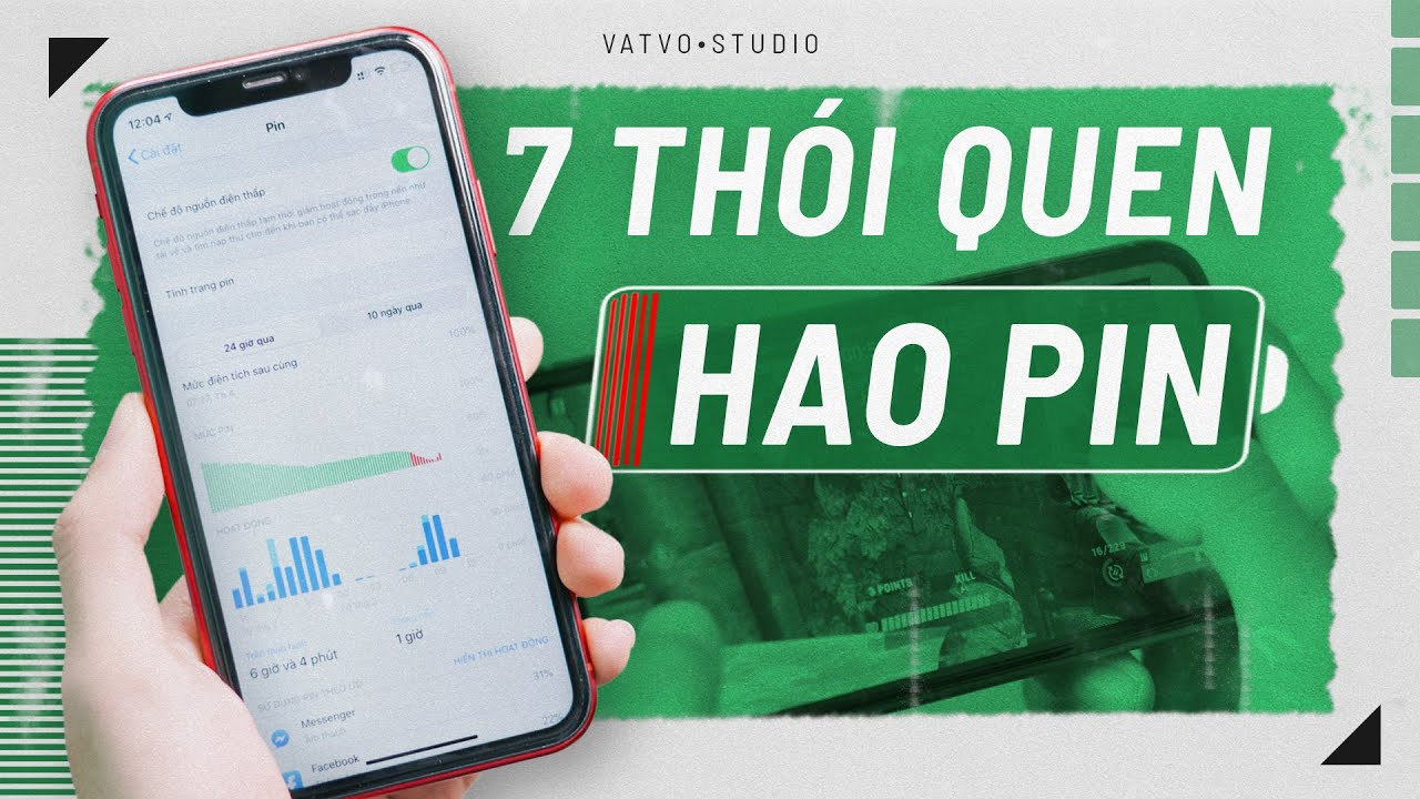 Những thói quen đang làm chiếc điện thoại của bạn HAO PIN